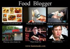 food blogger humor