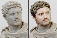Caracalla In The Flesh - RandomOverload Ancient Rome, Ancient Art, Ancient History, Sculpture Head, Roman Sculpture, Roman History, Art History, Forensic Facial Reconstruction, Greek Mythology Art