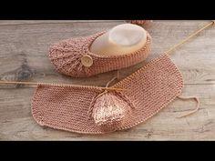 Следки на двух спицах Легкие 😃 How to knit slippers to any size - YouTube Knitting Charts, Easy Knitting, Loom Knitting, Knitting Socks, Knitting Patterns Free, Knit Crochet, Crochet Hats, Knit Lace, Crochet Ideas
