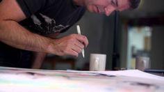 Derwent Graphik Line Painter Techniques Marker Art, Paint Pens, Line, Colours, Art Journaling, Watercolors, Markers, Scrapbooking, Tutorials
