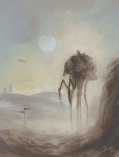 Crossing the ashlands - Morrowind, Elder Scrolls