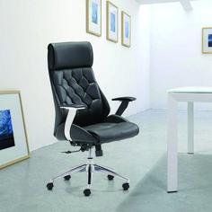 Modern Tufted Adjustable Office Chair - Black - ZM Home High Back Office Chair, Best Office Chair, Black Office Chair, Office Chairs, Lounge Chairs, Office Desk, Office Chair Cushion, Desk Chair, Swivel Chair