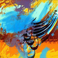 Art work by artist Khaled Shaheen