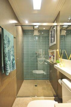 Apartamento Vila Mariana: Banheiros ecléticos por Condecorar Arquitetura e Interiores