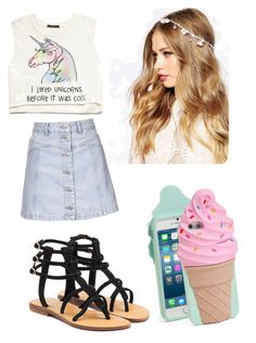 """""""Untitled #51"""" by bvb-aubrey on Polyvore featuring Forever 21, Topshop, Mystique, ASOS and Kate Spade"""