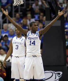Michael Kidd-Gilchrist and Terrence Jones. My idea of a dynamic duo!
