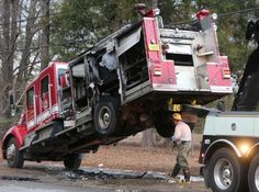 Irony 1, Fire Department 0: Fire truck catches fire - Crime/Public ...