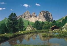 Fototapeta Dolomity hory