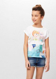 Camiseta algodón frozen | MANGO KIDS