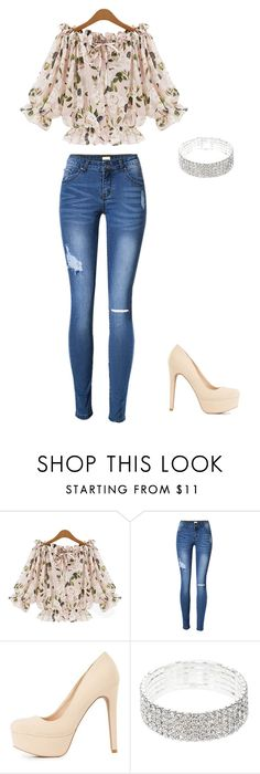 """""""Romantic"""" by jennyestrella on Polyvore featuring Charlotte Russe"""