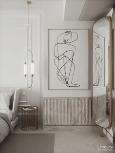 'Stoned in Love' Apartment — Live IN Modern Classic Bedroom, Modern Classic Interior, Home Room Design, Interior Design Living Room, Living Room Designs, Stone In Love, Neoclassical Interior, Küchen Design, Luxurious Bedrooms