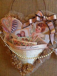 My Creative Life Diary: Vintage Valentine 2013