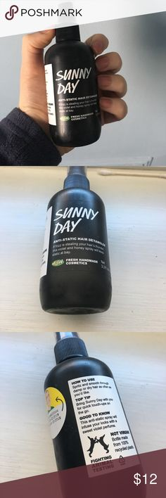 LUSH Sunny Day Hair Mist De-frizzing hair mist 💁  Expires in June 2018 📆 Brand new, never used ✨ Lush Other