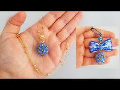 Top Cevşen Yapımı. Türkçe Anlatımlı.!🎀 Easy Ball Necklace Making. - YouTube Bead Jewellery, Pendant Jewelry, Diy Jewelry, Handmade Jewelry, Jewelry Making, Crochet Beaded Bracelets, Beaded Bracelets Tutorial, Beaded Jewelry Patterns, Crochet Flower Tutorial