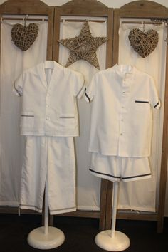 Pijamas en blanco para los chicos de la casa. #pijamas #moda_infantil #kids