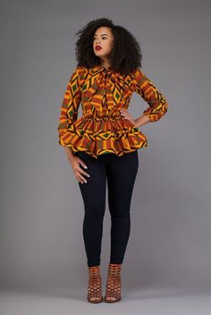 afrikanische kleider There are toons of Ankara styles for ladies trending in the year Picking the African Fashion Designers, African Fashion Ankara, African Inspired Fashion, Latest African Fashion Dresses, African Print Dresses, African Print Fashion, Africa Fashion, African Dress, African Print Peplum Top