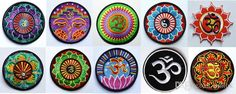 ! 10 Kinds Of Yoga Lotus Retro Hippie Applique Iron On Patch Iron On Applique Motif, Garment Embroidery Biker Diy From Unitok, $37.7 | Dhgate.Com