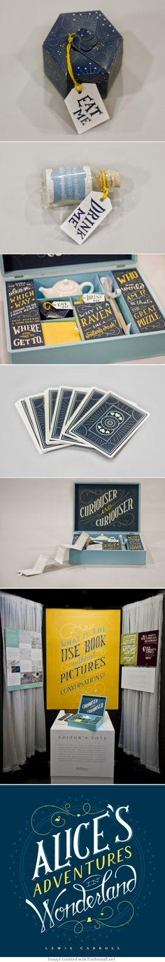 Alice In Wonderland #packaging #branding PD