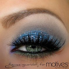 Feeling blue? Well, i do! At least in a makeup kind of way  This is the first makeup i share with you from my 'Fabulous Fall' concept created for Motives. Used: @motivescosmetics  Pressed Shadows Galaxy, Glamour, Creme Fresh, Heavy Metal. Paint Pot Glamour & Glitter Pot Aspire, Khol eyeliner Noir Lashes Noir Fairy by @houseoflashes  Brows by @anastasiabeverlyhills , Brow Pro Palette Wish you a wonderful Day