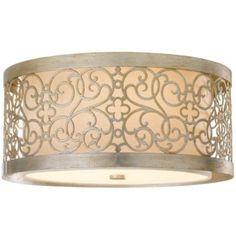 Arabesque Flushmount by Murray Feiss #gatsby glam