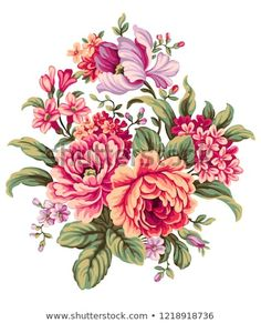 Find Floral Bouquet Design Garden Pink Peach stock images in HD and millions of other royalty-free stock photos, illustrations and vectors in the Shutterstock collection. Wax Flowers, Bunch Of Flowers, Botanical Flowers, Art Floral, Flower Prints, Flower Art, Light Pink Bouquet, Floral Bouquets, Floral Wreath
