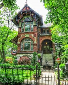 architecture old gothic victorian houses Haus Architecture Cool, Victorian Architecture, Victorian Buildings, Beautiful Buildings, Beautiful Homes, Beautiful Places, Beautiful Beautiful, House Beautiful, This Old House