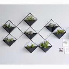 Cache-pot mural métal IKEBANA - Expolore the best and the special ideas about Mobile design Wall Plant Pot, Plant Wall Decor, Green Wall Decor, House Plants Decor, Metal Wall Decor, Ikebana, Metal Wall Planters, Wall Mounted Planters, Concrete Planters