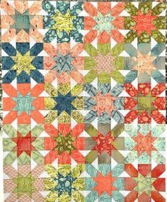 Free Starburst Fat Quarter Pattern
