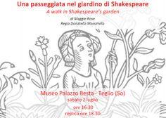 Claudia Grohovaz: Una passeggiata nel giardino di Shakespeare - 2 lu...