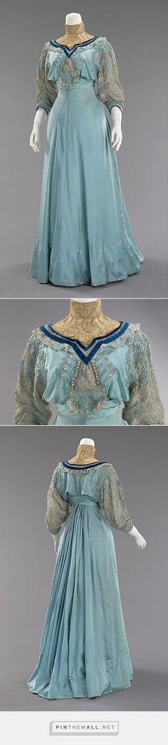 Afternoon dress by House of Paquin 1906-08 French | The Metropolitan Museum of Art