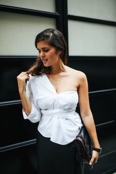 3b7d6a9a732 4 very different ways to wear that white shirt in your closet - making it  the