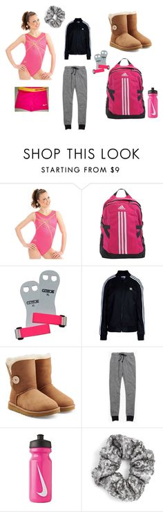 """""""Leo Life """" by kylieeeadams ❤ liked on Polyvore featuring adidas, adidas Originals, UGG Australia, Madewell, NIKE and Berry"""