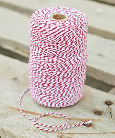 Tie special gifts, pastry boxes and bags together, or embellish cards and scrapbook pages with this colorful cotton twine. It's soft and easy to work with, lending an attractive vintage touch to craft projects.