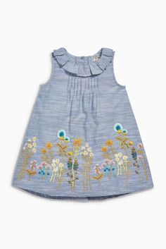 Girls Embroidered Dress ($26)
