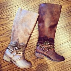 Our Tutson boots are super popular, can you see why!? Get them at hissyfitboutique.com