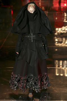 Christian Dior S/S 2006 couture French Revolution inspired collection.