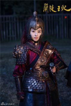 Baby Zhang in Princess of Lanling King