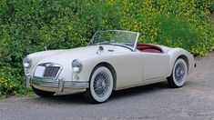 Bid for the chance to own a 1957 MG MGA Roadster at auction with Bring a Trailer, the home of the best vintage and classic cars online. Mg Cars, Tonneau Cover, Classic Cars Online, Car Pictures, Cars For Sale, Vintage Cars, Cool Cars, Automobile, 1950