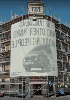 From 2007: a supremely clever outdoor idea that won a Silver Lion at Cannes.Agency: Uncle Grey, Aarhus, Denmark