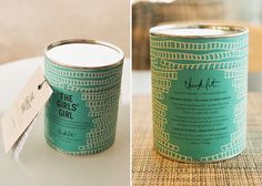 Chick Lit Candles on Packaging of the World - Creative Package Design Gallery