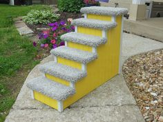 Dog Steps Cat Stairs 24 High Pet Steps by HamptonBayPetSteps