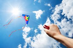 Photo about Kite flying in a beautiful sky with sun and clouds. Image of bright, high, holding - 24481381 Go Fly A Kite, Kite Flying, Stunt Kite, Cellar Design, Free Online Jigsaw Puzzles, Sun And Clouds, Tim Beta, Recreational Activities, Instructional Design