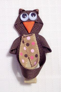 Little Hoot Owl Hair Clip. use pic for idea only.