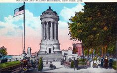 THE SOLDIERS AND SAILORS MONUMENT (always free) honors Union Army members who served in the Civil War and can be found on a promontory along Riverside Drive at West 89th Street.