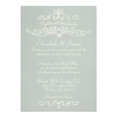 Simple Luxury Silver Wedding Invitations How toReview on the This website by click the button below...