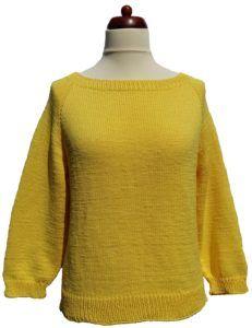 Fentről körbe egybe kötött alap pulóver leírással, magyarul
