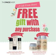 1 May-25 Jun 2015: The Face Shop FREE Gift with Any Purchase