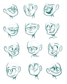 Drawing Cartoon Characters Animation Sketches Best Ideas, Drawing C.You can find Animation and more on our . Cartoon Faces Expressions, Drawing Cartoon Characters, Drawing Expressions, Character Drawing, Cartoon Expression, Drawing Cartoon People, Drawing Cartoons, Animation Character, Cartoon Sketches