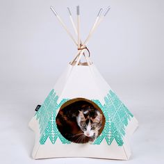 ZuZu Tipi by Cat Tipi - fab hideaway for the kitteh!