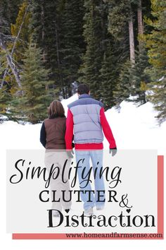 Simplifying clutter and distraction on www.homeandfarmsense.com